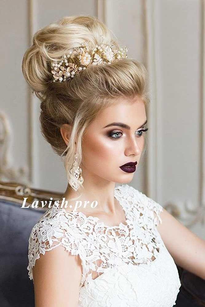 زفاف - 30 Greek Wedding Hairstyles For The Divine Brides