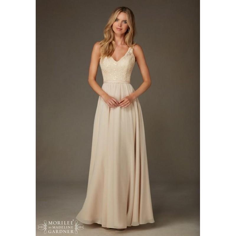 Mariage - Morilee Bridesmaids 122 Tank Floor Length Lace & Chiffon Dress - Crazy Sale Bridal Dresses