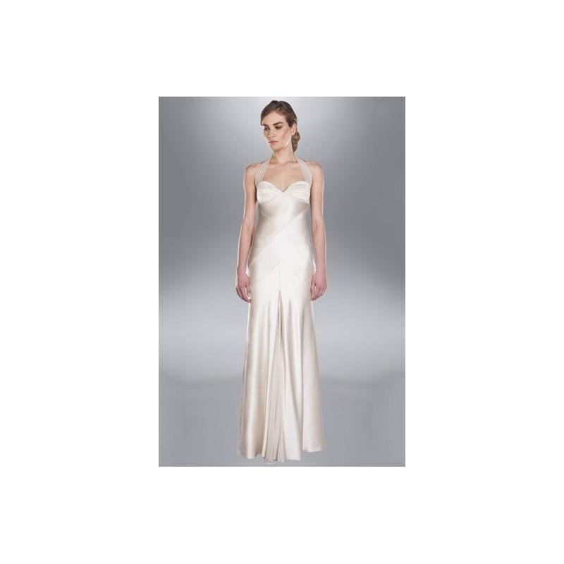 Свадьба - Amanda Wakeley SP14 Dress 16 - Spring 2014 Full Length Fit and Flare Sweetheart Ivory Amanda Wakeley - Rolierosie One Wedding Store