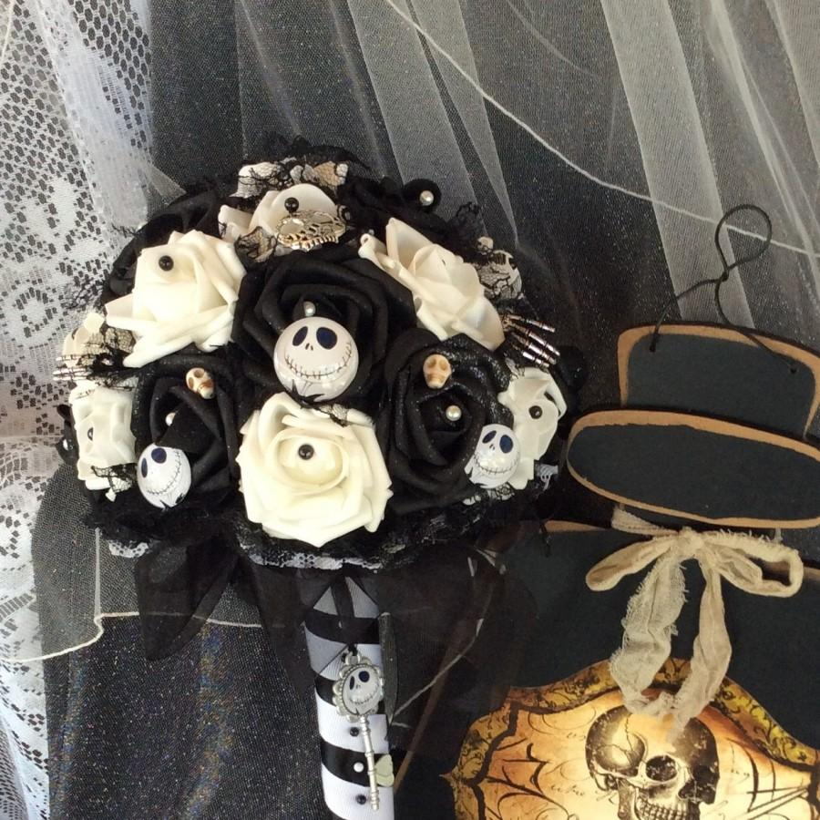 Nightmare Before Christmas Wedding-Jack Skellington-Black&White-Tim ...