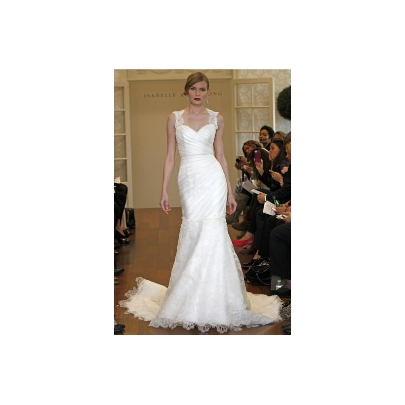 Mariage - Isabelle Armstrong Fall 2015 Dress 4 - Sweetheart Full Length White Isabelle Armstrong Fall 2015 Fit and Flare - Rolierosie One Wedding Store