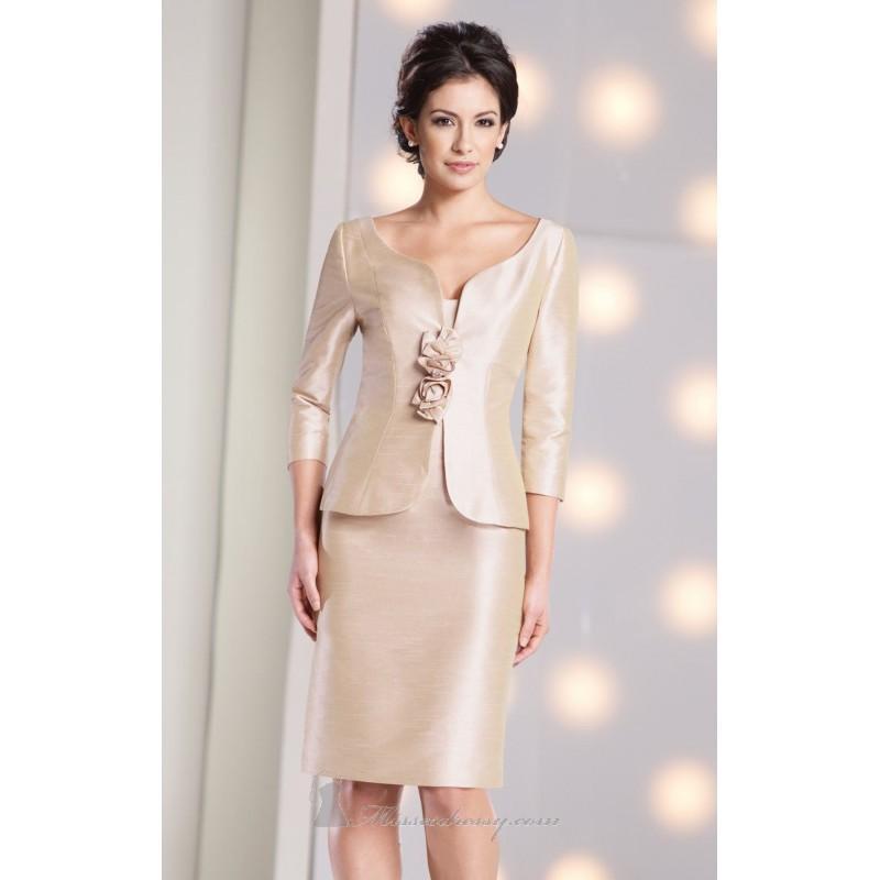 Свадьба - Strapless Curved Neckline Shantung Dress by Social Occasions by Mon Cheri 213880 - Bonny Evening Dresses Online