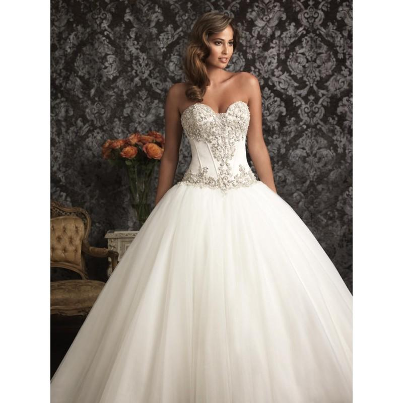 Mariage - Allure Bridals 9017 Allure Bridal - Rich Your Wedding Day