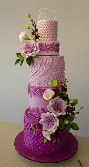 Wedding - Lilac Cake