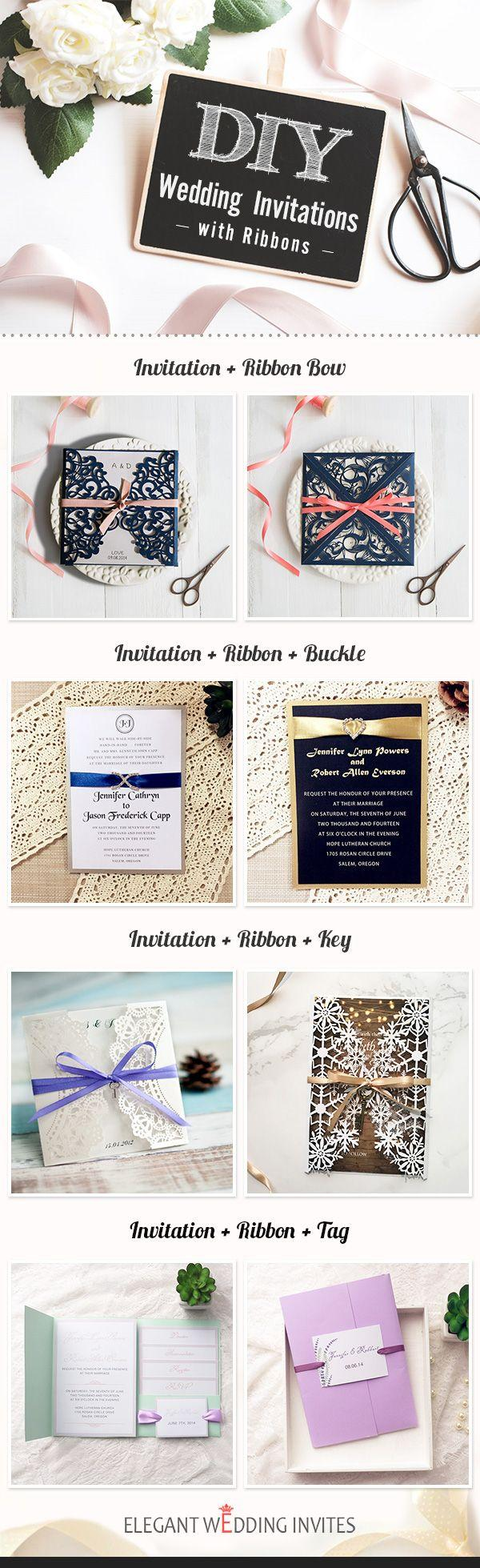 Wedding - Top 6 DIY Wedding Invitations And Ideas By Elegant Wedding Invites