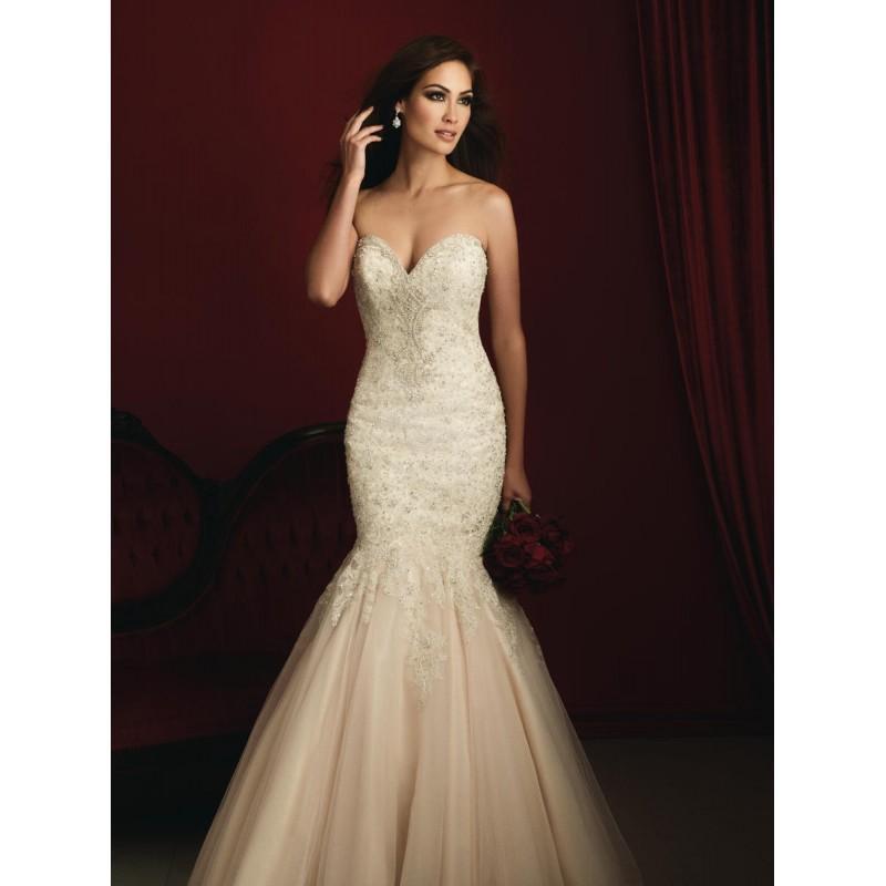 Wedding - White/Silver Allure Bridals Couture C363 - Brand Wedding Store Online