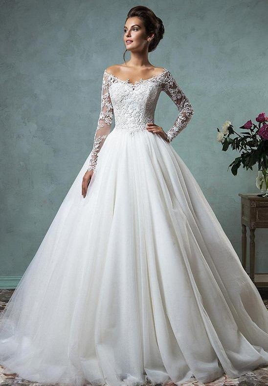 Mariage - Top 10 Long Sleeve Lace Wedding Gowns