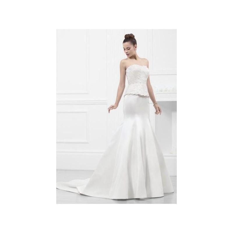 vestido de novia de fran rivera alta costura modelo frn521 - 2015