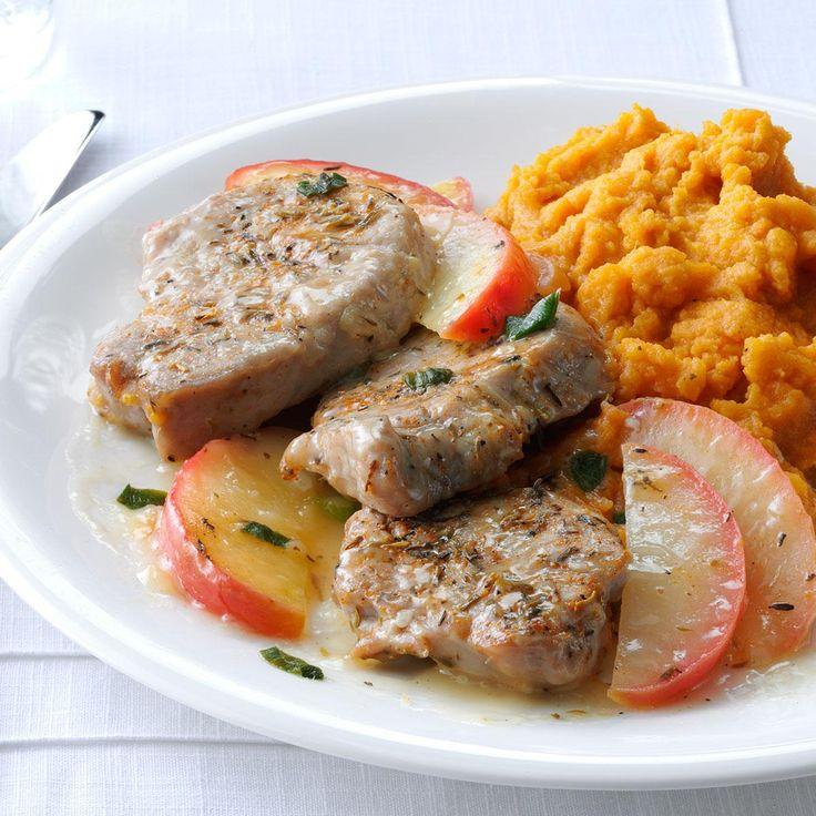 Düğün - Pork Medallions With Sauteed Apples