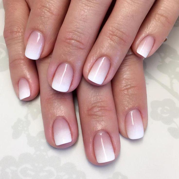 Nagel - Ombre French NAils #2785738 - Weddbook