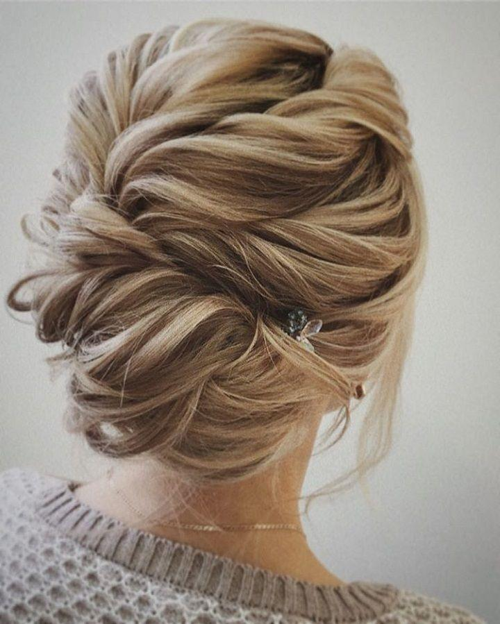 54 Simple Updos Wedding Hairstyles For Brides 2785745 Weddbook