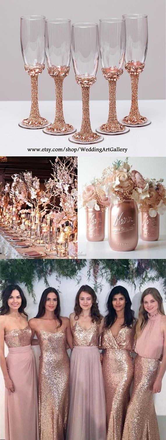 Wedding Theme 22 Rose Gold Quinceanera Decorations 2785933 Weddbook