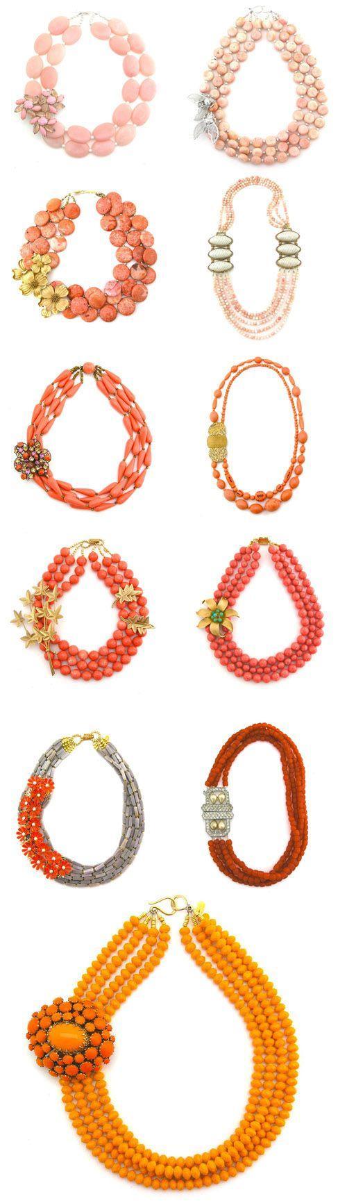 Hochzeit - Elva Fields Spring 2012 Vintage Necklace Collection
