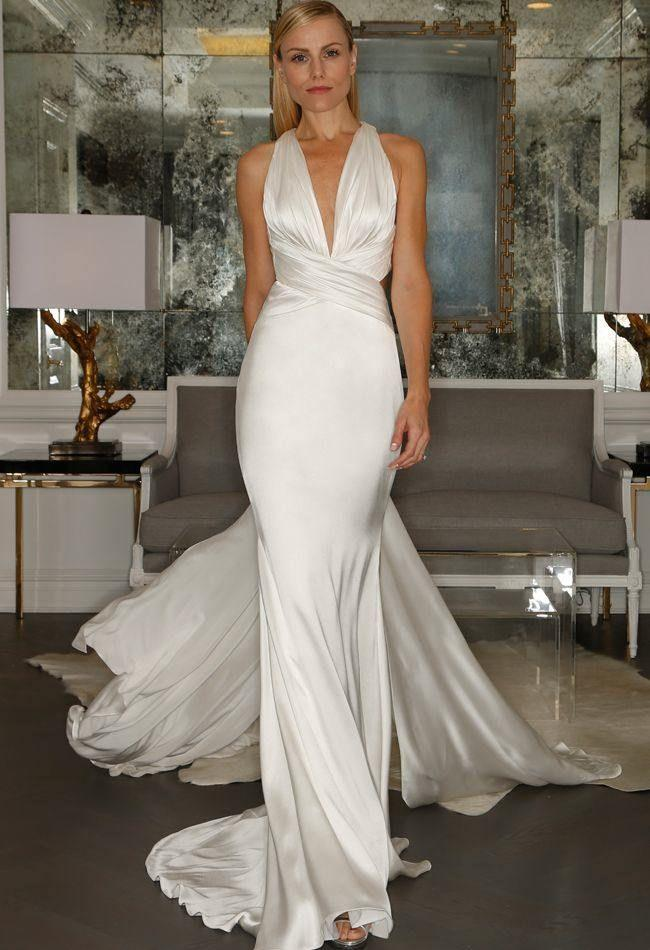 Bridal Style 21 Fabulous Silk Wedding Dresses 2786026 Weddbook
