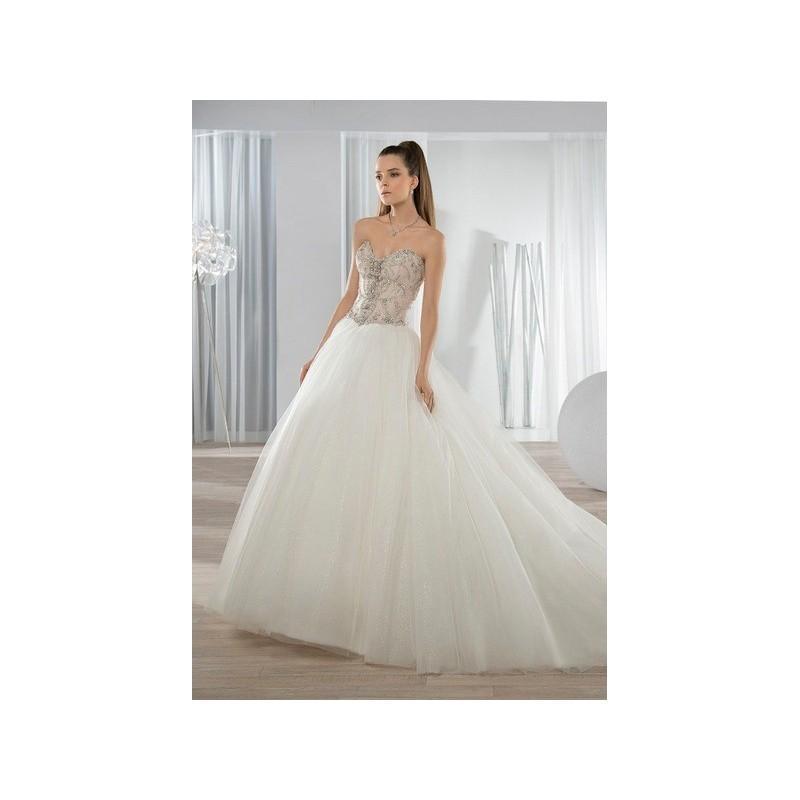 زفاف - Vestido de novia de Demetrios Modelo 653 - 2016 Princesa Palabra de honor Vestido - Tienda nupcial con estilo del cordón