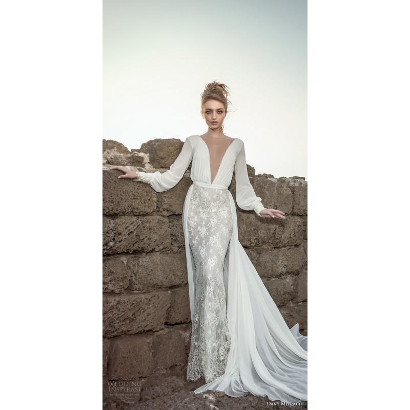Boda - Dany Mizrachi 2018 DM82/17- F/W Sexy Chapel Train Bridal Gown Sexy Chapel Train Bridal Gown - Stunning Cheap Wedding Dresses