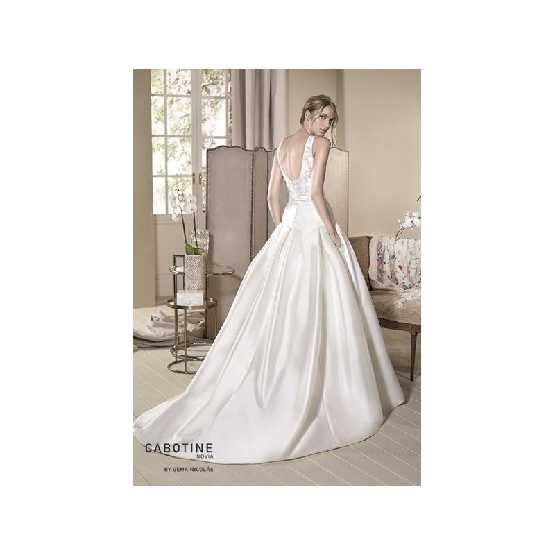 Wedding - Vestido de novia de Cabotine Modelo Magnolia espalda - 2017 Evasé Tirantes Vestido - Tienda nupcial con estilo del cordón