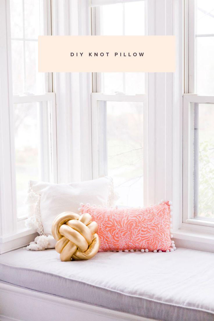 Mariage - DIY Knot Pillow Tutorial