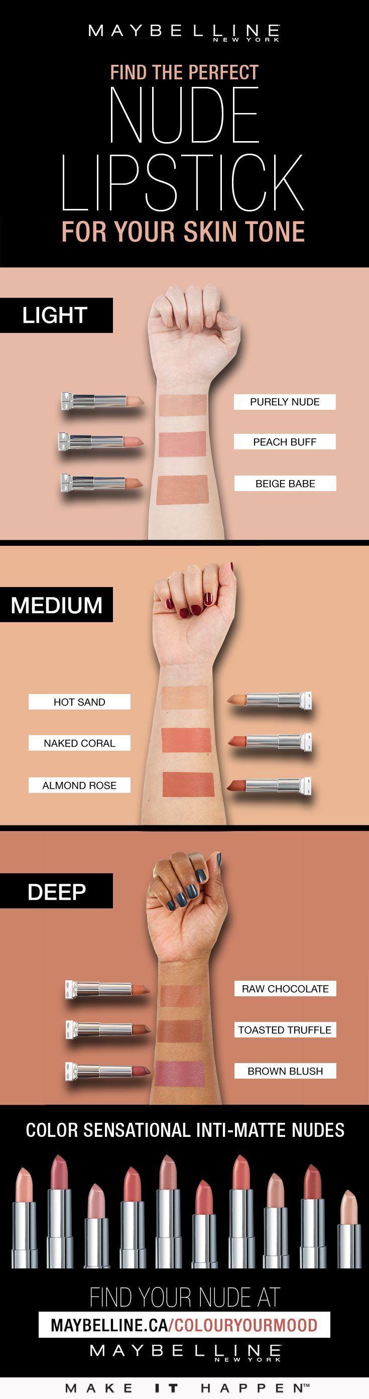 Свадьба - Lipstick Shade Guide