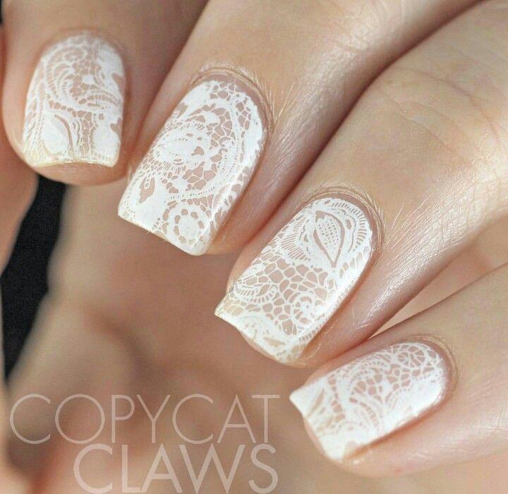 زفاف - Wedding Nail Art Idea