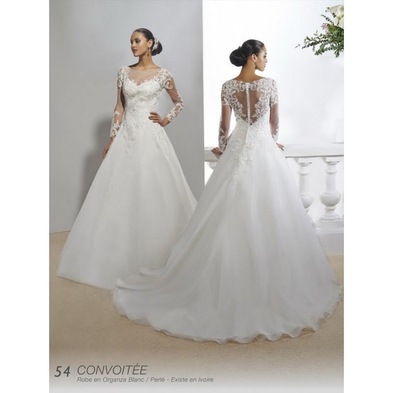Hochzeit - Robes de mariée Annie Couture 2016 - convoitee - Superbe magasin de mariage pas cher