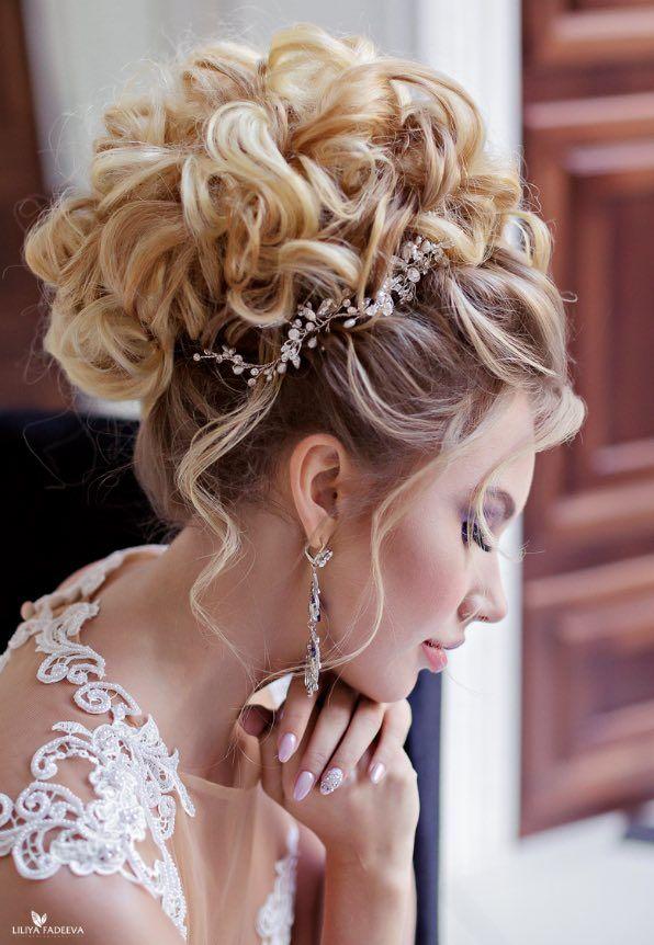 Свадьба - Wedding Hairstyle Inspiration - Anna Komarova Hair & Makeup School