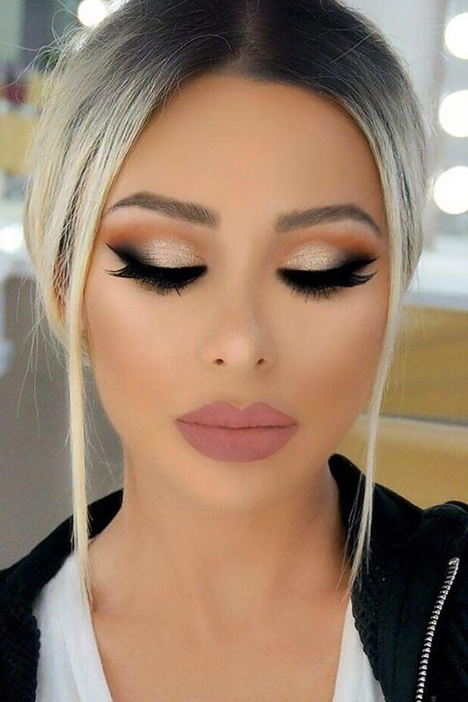 Свадьба - Glittery Smokey Eye