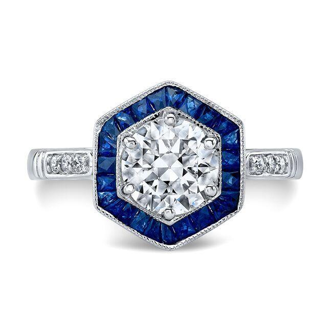 Wedding - Octagon Ring