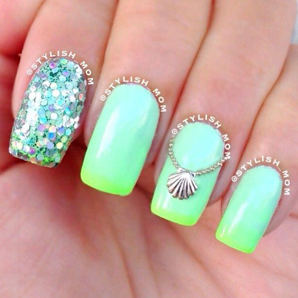 Свадьба - 65 Most Eye Catching Beautiful Nail Art Ideas