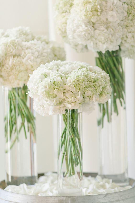 Свадьба - White Wedding Centerpiece