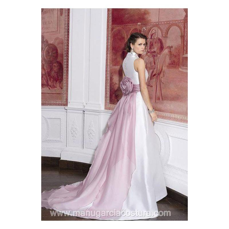 Wedding - Vestido de novia de Manu García Modelo MG402E - Tienda nupcial con estilo del cordón