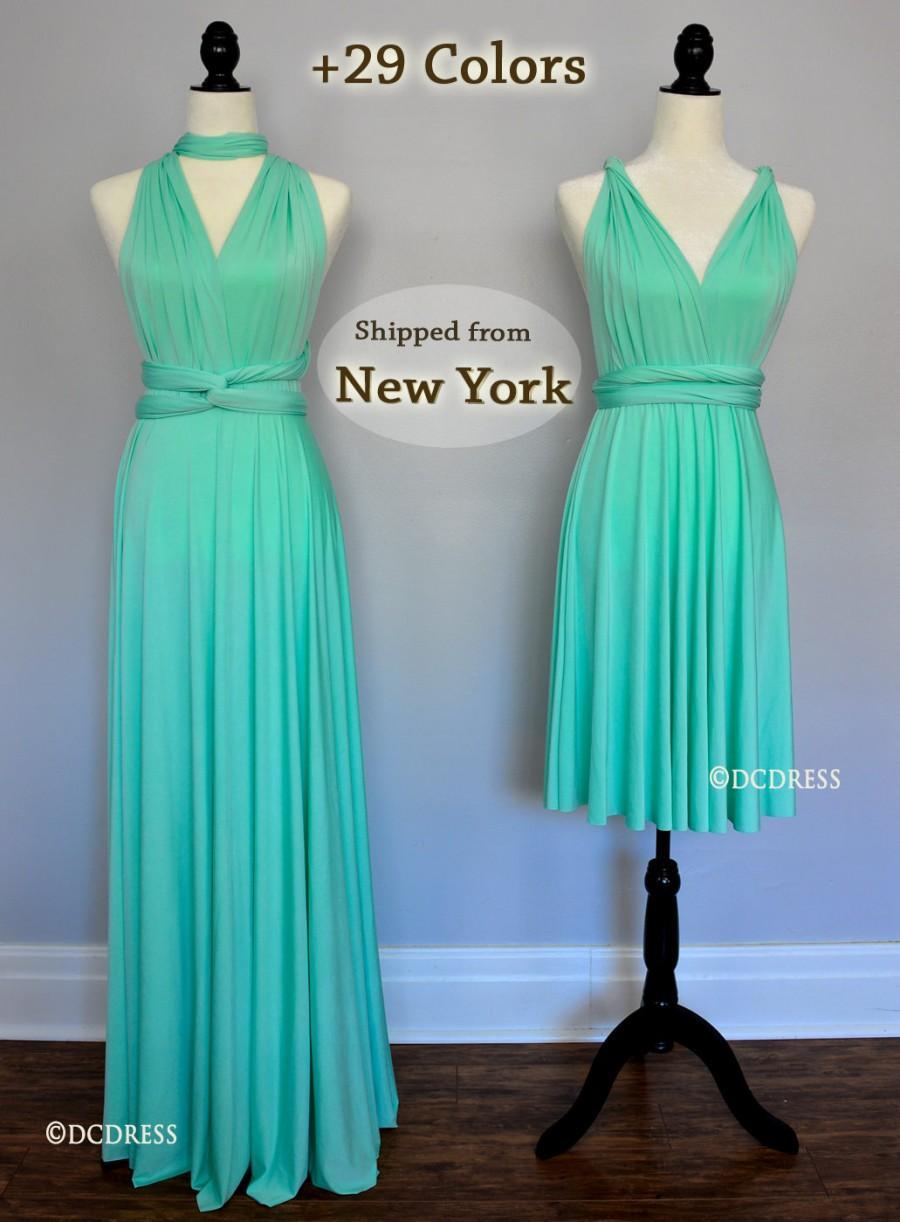 Mint Green Bridesmaid Dress de186d74f1c0