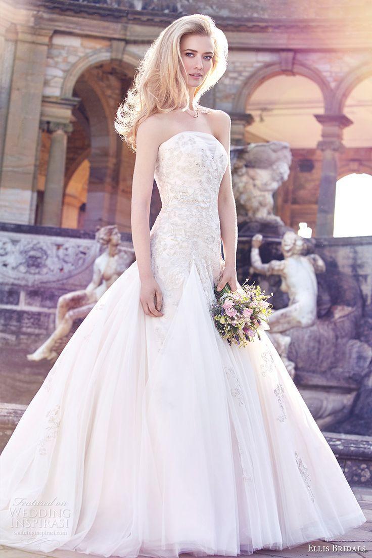 Mariage - Ellis Bridals 2016 Wedding Dresses — Magnolia Bridal Collection Campaign