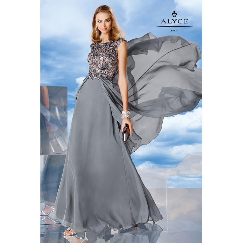 Wedding - Alyce Paris 6480 Silky Chiffon Special Occasion Dress - Brand Prom Dresses