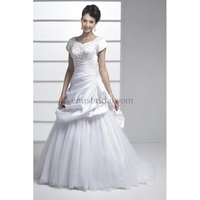 زفاف - Venus Modest Wedding Dresses - Style TB7570 - Formal Day Dresses