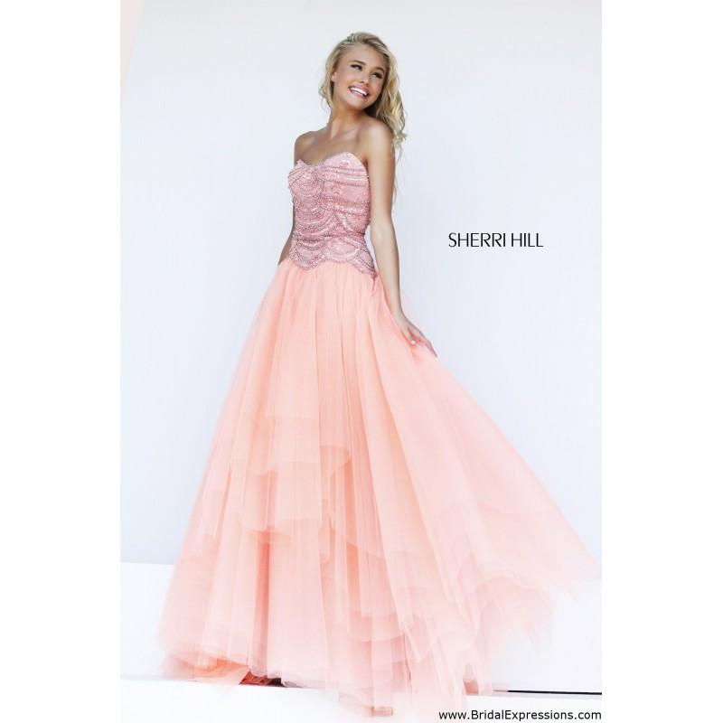 Sherri Hill 11082 Tulle Ball Gown Prom Dress - Crazy Sale Bridal ...