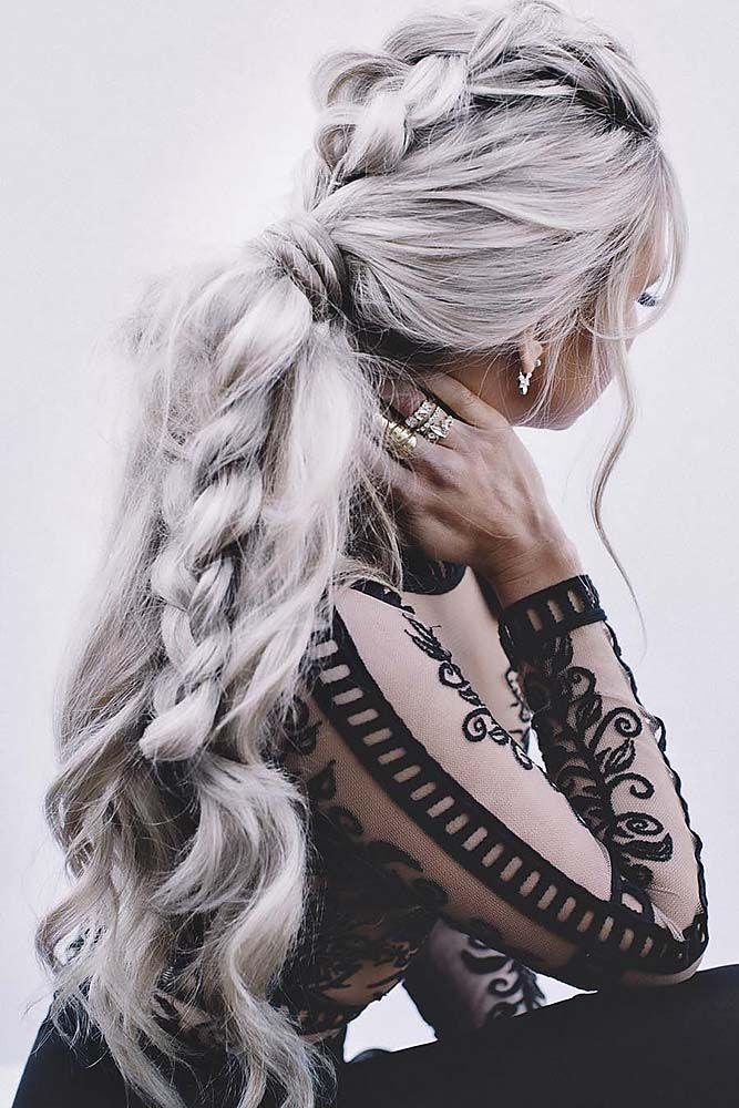 Mariage - Braided Wedding Hairstyle Ideas Via Bamhair
