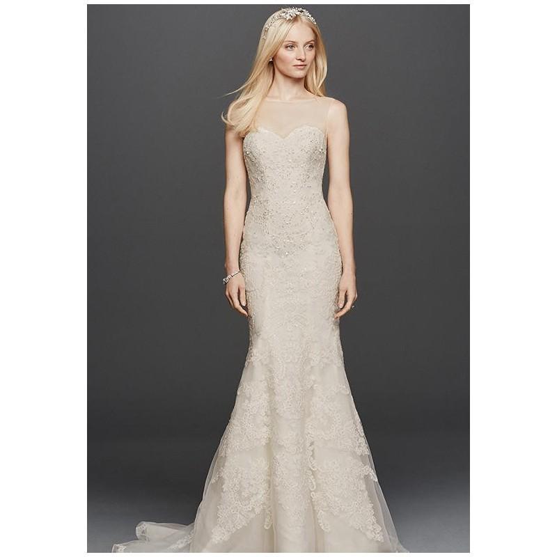 2409f2f691ec Oleg Cassini at David's Bridal Oleg Cassini Style CWG736 Wedding Dress -  The Knot - Formal Bridesmaid Dresses 2017