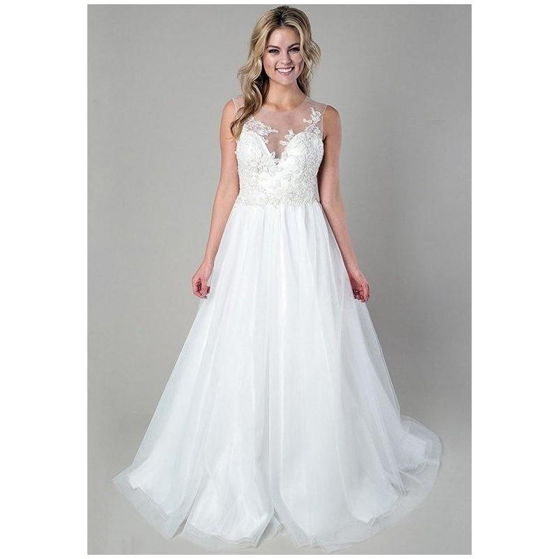 Heidi elnora rachel leah wedding dress the knot formal for Wedding dresses the knot