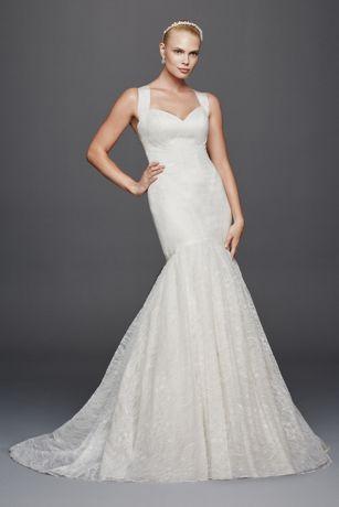 Hochzeit - Truly Zac Posen Mermaid Tank Wedding Dress Style 4XLZP341638