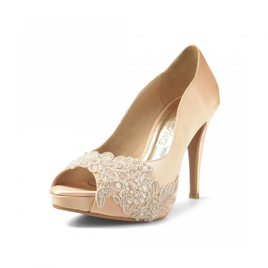 Miss Ace 2 Gold Wedding Heels 989fd1fc8b