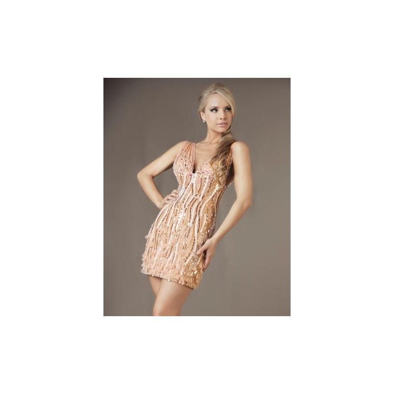 Wedding - Mac Duggal Cocktail Dress 85050D - Brand Prom Dresses