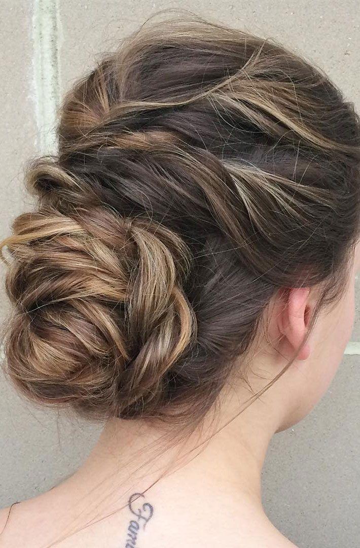 Perfect Textured Updo Wedding Hairstyle Inspiration 2790332 Weddbook