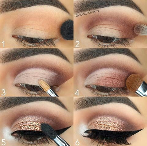 Wedding - Rose Gold Eye Makeup