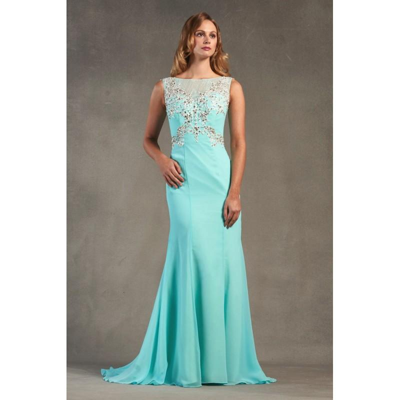 Свадьба - Style 1700586 by LQ Designs - Illusion back Floor High  Illusion Occasions - Bridesmaid Dress Online Shop
