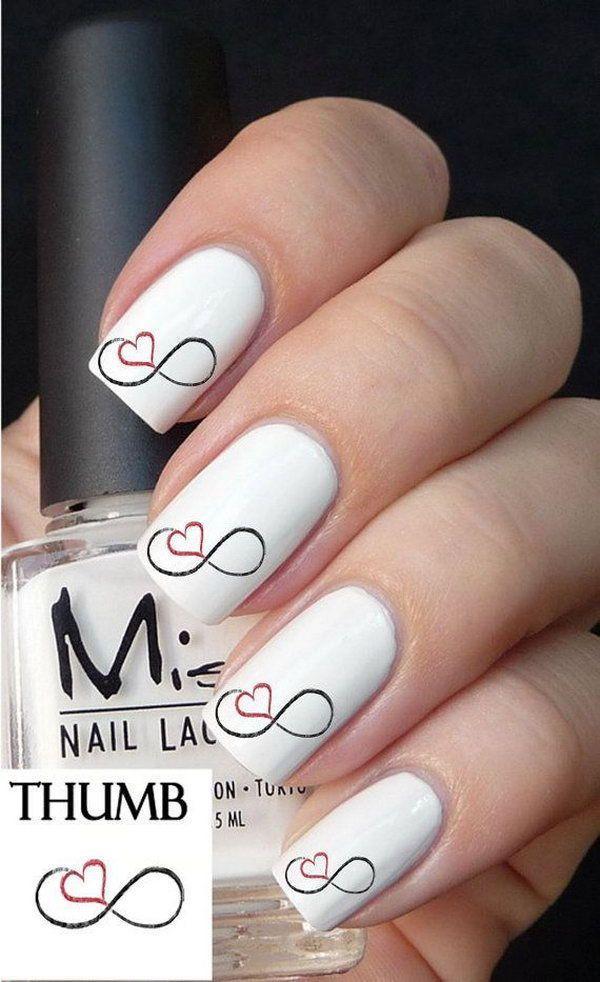 Nagel Infinity Nail Art 2791261 Weddbook