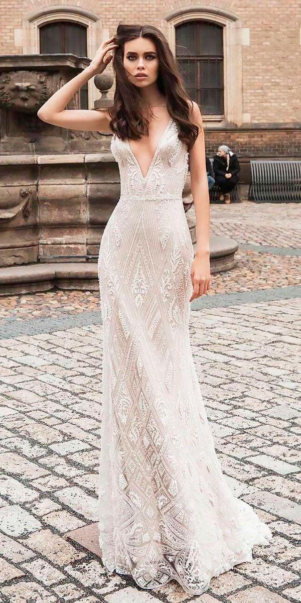 Mariage - 15 Bohemian Wedding Dresses For Charming Brides