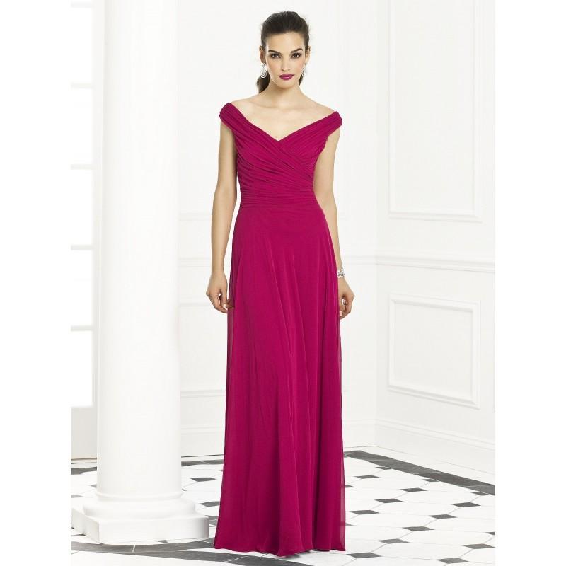 Mariage - After Six Lux Chiffon Long Bridesmaids Dress 6667 - Crazy Sale Bridal Dresses