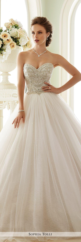 Wedding - Tulle Wedding Gown - Sophia Tolli Y21663