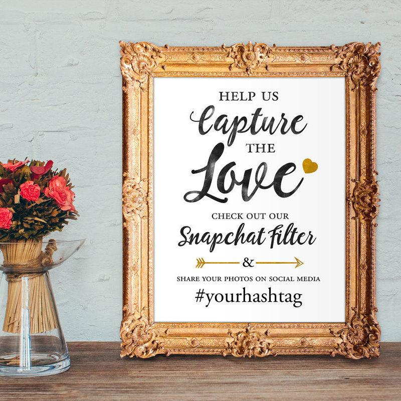 photograph relating to Printable Snapchat Filters identified as Wedding day Snapchat Filter Signal - Monitor Out Our Snapchat Filter